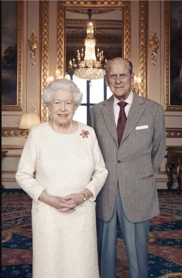 Queen Elizabeth II and her husband, the Duke of Edinburgh at Windsor Castle. Picture Photo (C) GETTY