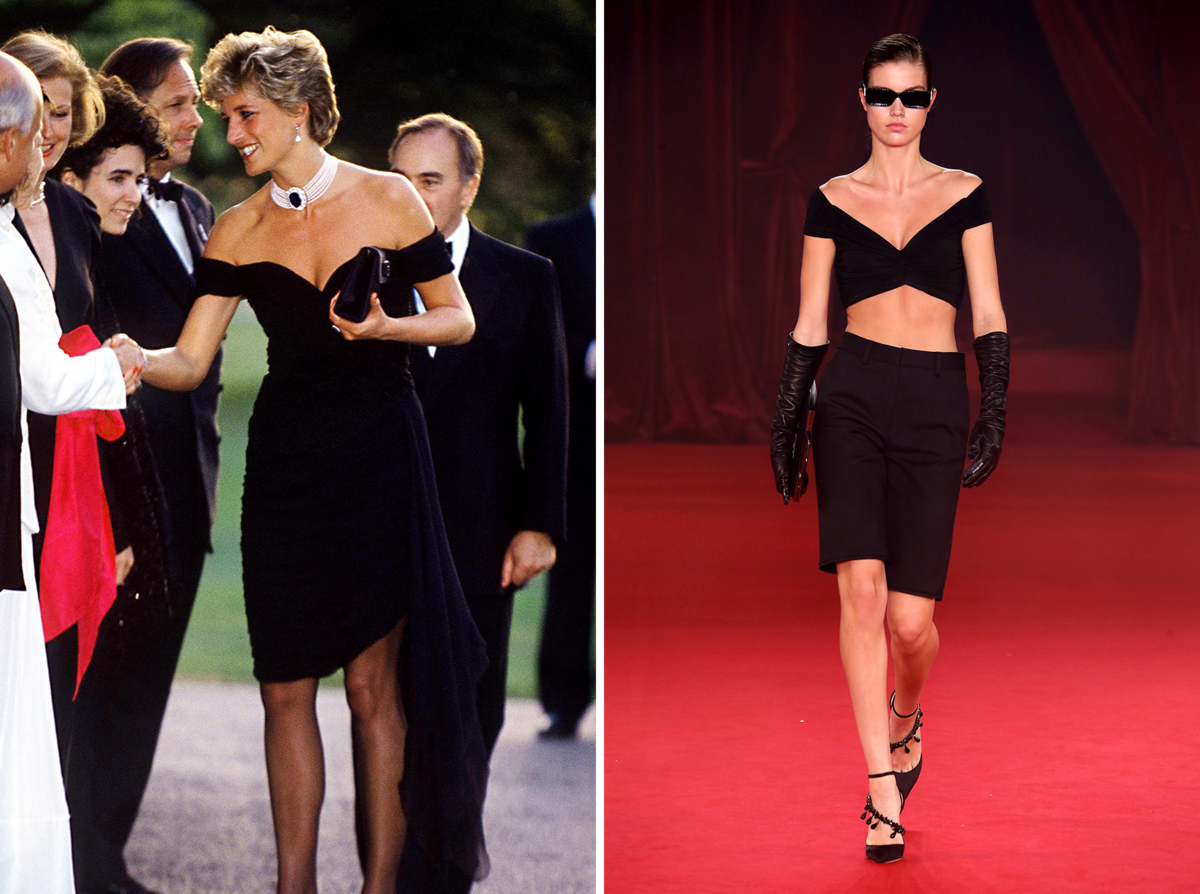 The Princess Diana Moments That Inspired Virgil Abloh's Latest Off-White Collection Photo (C) GETThe Princess Diana Moments That Inspired Virgil Abloh's Latest Off-White Collection Photo (C) GETTY IMAGESTY IMAGES