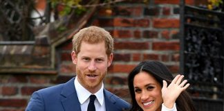 1 Harry 33 who revealed a year ago he had fallen for the actress after a four to six month secret relationship proposed to Meghan 36 in London earlier this month.