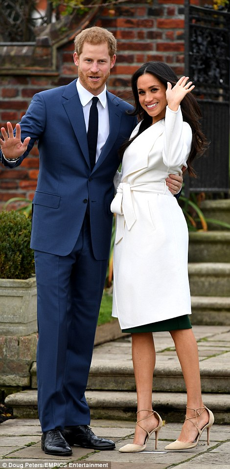 Harry, 33, who revealed a year ago he had fallen for the actress after a four to six month secret relationship, proposed to Meghan, 36, in London earlier this month.