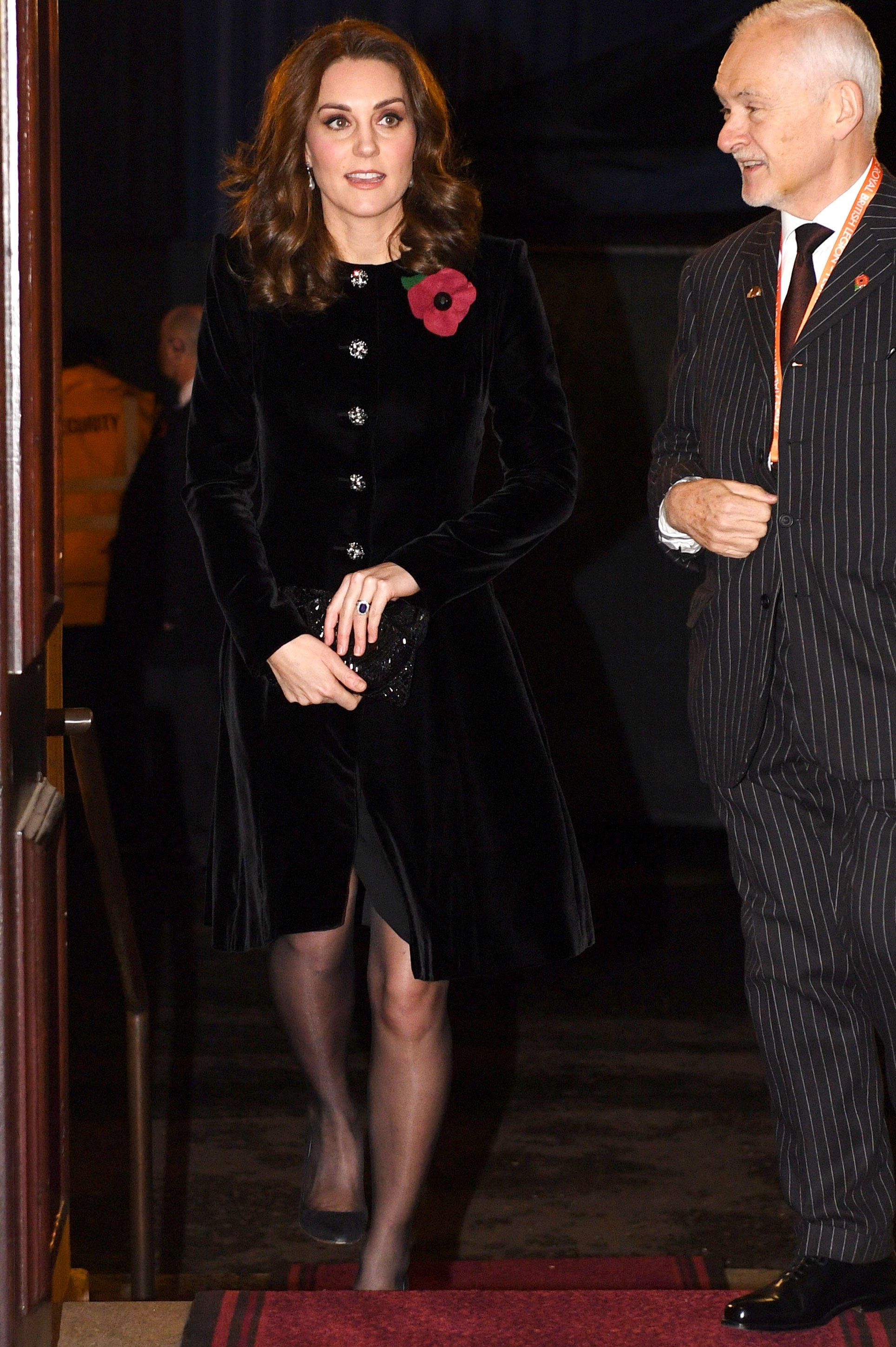3 Kate Middleton joined Queen Elizabeth and Prince Philip on Saturday evening for the Festival of Remembrance Photo C STEPAN ROUSSEAU PA WIRE AP
