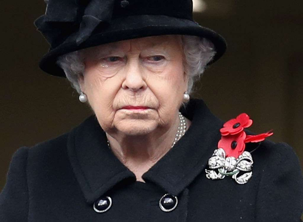 The Queen Elizabeth II breaks down during London service Photo (C) GETTY IMAGES