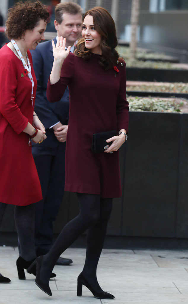 Catherine Duchess of Cambridge Pregnant Photo (C) John Phillips - WPA Pool , Getty Images