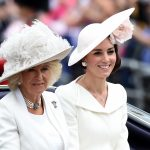 2 Catherine Duchess of Cambridge and Camilla Parker Bowles Trooping the Colour 2017