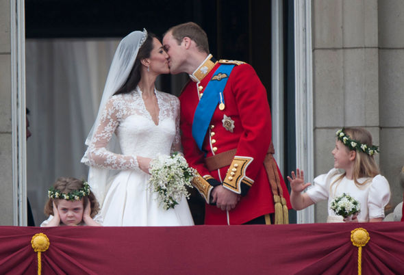 Kate Middleton and Prince William wedding The couple served an unusual food to guests Photo C WENN GETTY IMAGES