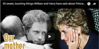 30 sweet, touching things William and Harry have said about Princess Diana