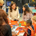 4 The Duchess chats to families in the nursery who have benefitted from Hornsey Road Childrens Centres support Photo C TWITTER KENSINGTON PALACE