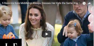 5 Reasons Kate Middleton Always Dresses Her Kids the Same Way