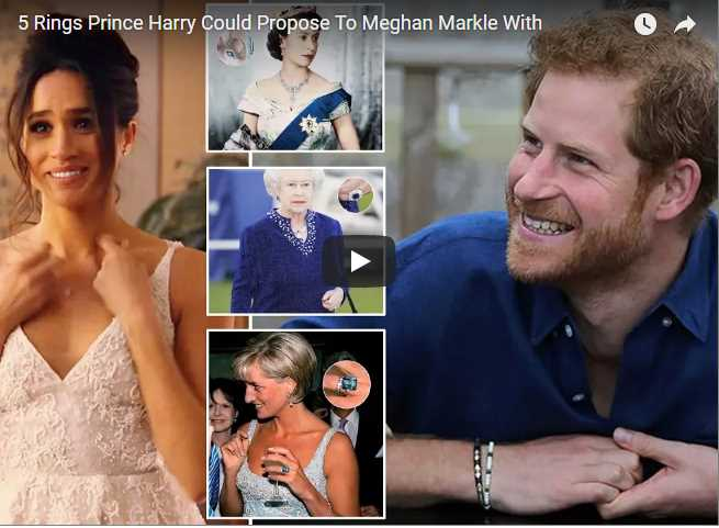 5 Rings Prince Harry Could Propose To Meghan Markle With