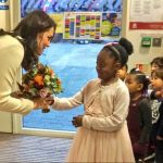 A big thank you to Hornsey Road Childrens Centre for a wonderful visit Photo C TWITTER KENSINGTON PALACE