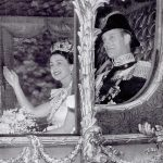 All smiles on Coronation Day – June 1953 Photo C REX SHUTTERSTOCK