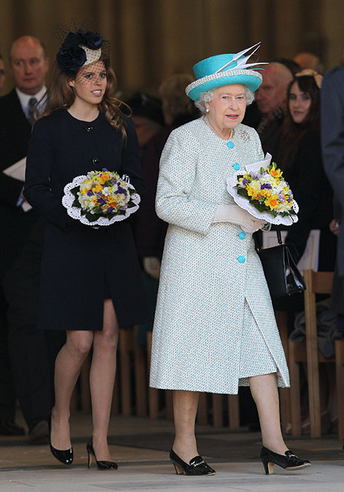 Beatrice told HELLO Online that the Queen was one of the most important women in her life Photo C GETTY