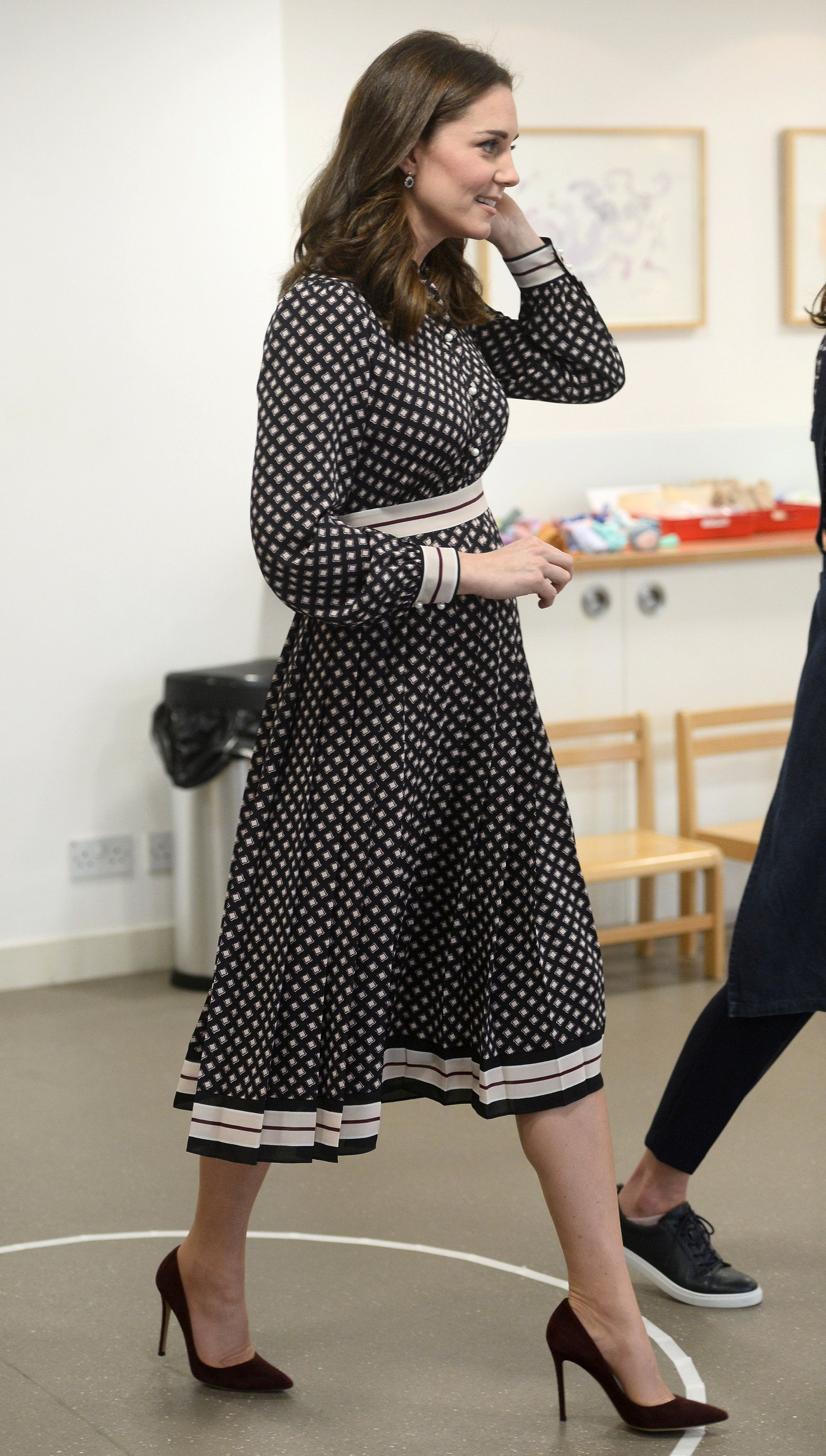 Britain's Catherine, The Duchess of Cambridge, visits the Foundling Museum in London, November 28, 2017. REUTERS Mary Turner
