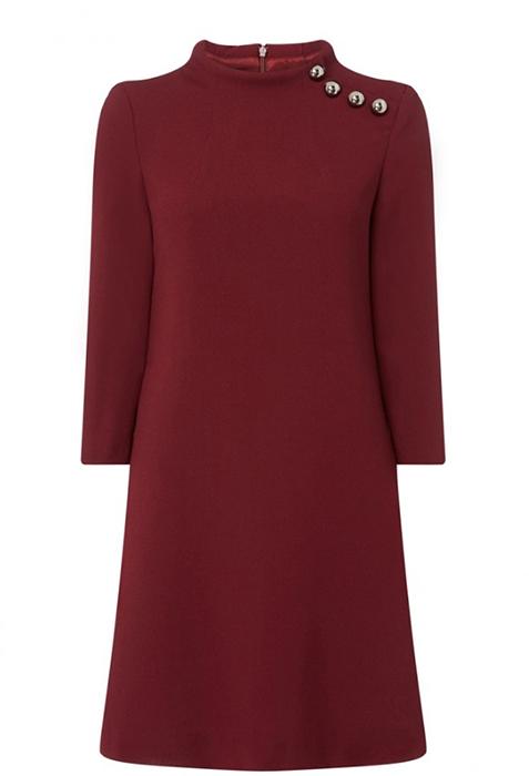 Catherine Duchess of Cambridge 'Eloise'dress, £480, Goat Photo (C) GETTY