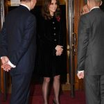 Catherine Duchess of Cambridge Remembrance Day Photo C PRESS ASSOCIATE TWITTER