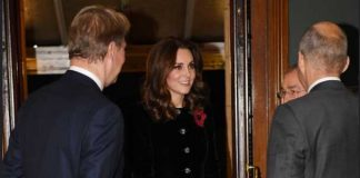 Catherine Duchess of Cambridge Remembrance Day Photo C TWITTER