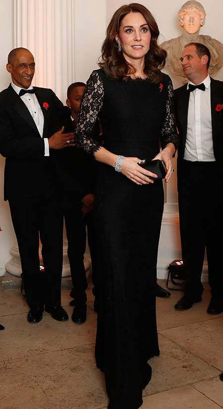 Catherine Duchess of Cambridge Wore Photo (C) GETTY