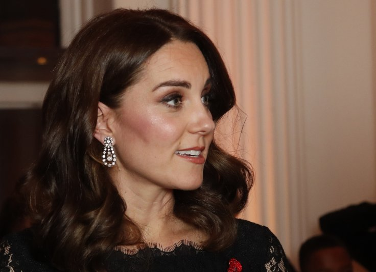Catherine, Duchess of Cambridge arrives at the 2017 Gala Dinner for The Anna Freud National Centre for Children and Families (AFNCCF) at Kensington Palace on November 7, 2017 in London, England AFP Getty