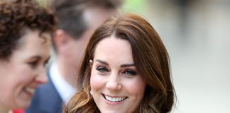 Catherine Duchess of Cambridge pregnant mother looked glowing Photo (C) GETTY