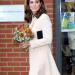Despite the scandal Kate was seen making an appearance at Hornsey Road Childrens Centre. Photo Getty