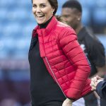 Duchess Kate looked on top form at Aston Villa Football Club Photo C GETTY