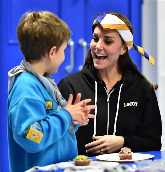 Catherine Duchess of Cambridge colin is raising money to help The Society For Mucopolysaccharide Diseases The MPS Society Photo C GETTY