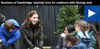 Duchess of Cambridge sharing love for outdoors with George and Charlotte