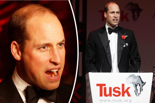 ECO-WARRIOR Prince William warns of overpopulation on Earth Photo (C) GETTY