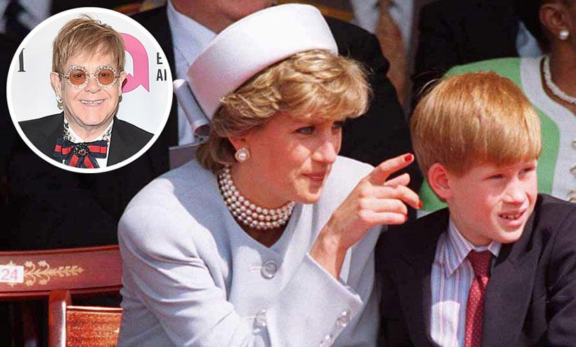 Elton John on 'rare gift' Prince Harry inherited from Princess Diana Photo (C) GETTY