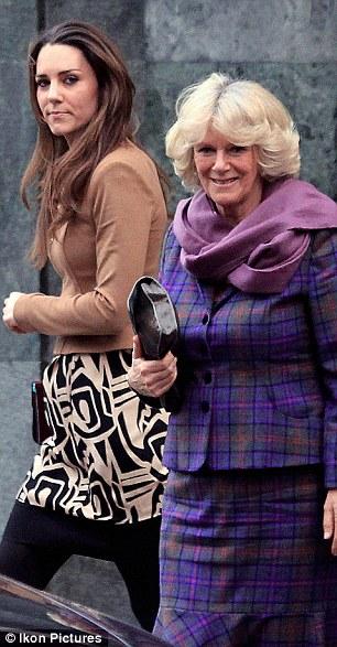 Catherine Dutchess of Cambridge and Diane Von Furstenburg Samuella Dress Photo (C) GETTY