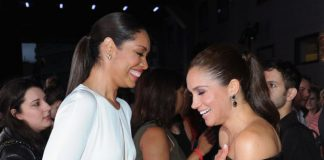 Gina Torres co-stars in Suits with Meghan Markle [Getty]