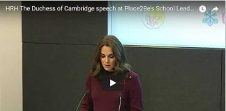 HRH The Duchess of Cambridge speech at Place2Be's School Leaders Forum 2017