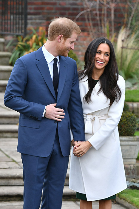 Harry and Meghan will marry in May Photo (C) GETTY