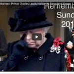Historic Moment Prince Charles Leads Nation As Emotional Queen Looks On Remembrance Sunday 2017