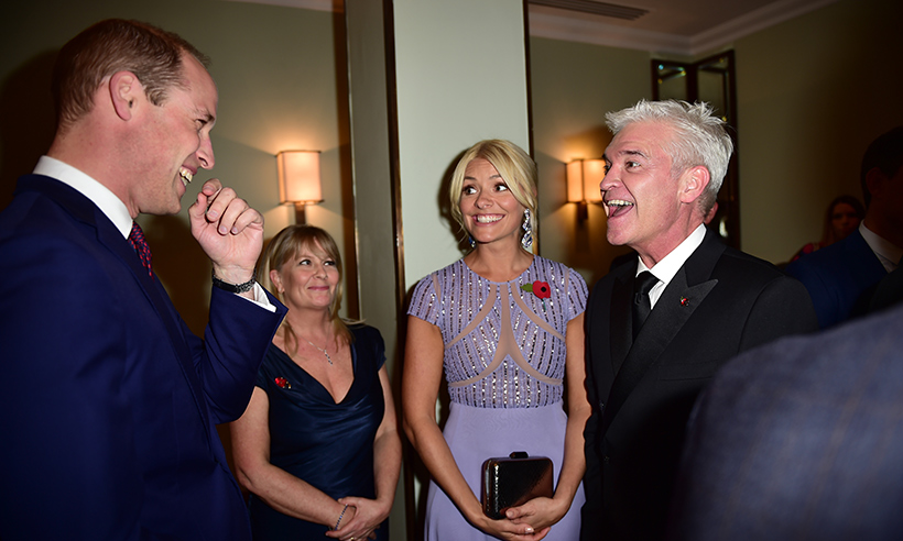Holly Willoughby has starstruck encounter with Prince William Photo (C) GETTY
