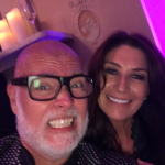 Hours before the attack, Gary posted a selfie with Julie-Ann at the event in London. Photo Twitter