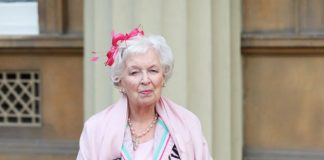 June Whitfield 'one feels so honoured' as she's made a dame Photo (C) GETTY IMAGES