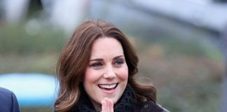 Kate 35 was in high spirits as she arrived for a day outdoors. Her visit to the school today comes after she spent yesterday at a museum and art gallery