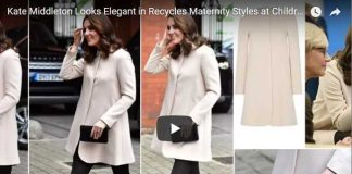 Kate Middleton Looks Elegant in Recycles Maternity Styles at Children's Centre Engagement