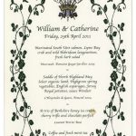 Kate Middleton Prince William wedding The couple served a menu filled with British produce Photo C WENN