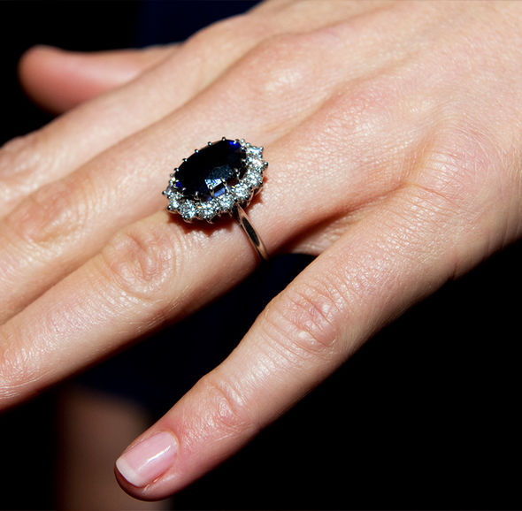 Kate Middleton wedding You won't believe how much the Duchess' engagement ring is worth now Photo C GETTY