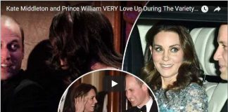 Kate Middleton and Prince William VERY Love Up During The Variety Performance Show
