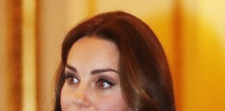 Kate Middleton ditched the eyeliner on her lower lids Getty