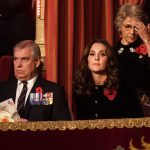 Kate Middleton joined Queen Elizabeth and Prince Philip on Saturday evening for the Festival of Remembrance Photo C STEPAN ROUSSEAU PA WIRE AP