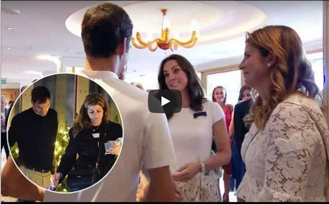 Kate Middleton news: Kate and William receive visit from Roger Federer