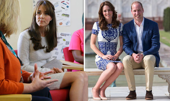 Kate Middleton, the Duchess of Cambridge, always sits in a particular way Photo (C) GETTY IMAGES