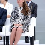 Kate Middleton the Duchess of Cambridge may find sitting this way more comfortable when pregnant Photo C GETTY