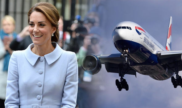 Kate Middleton was once spotted doing this common activity whilst travelling Photo (C) GETTY