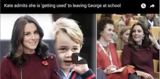 Kate admits she is getting used to leaving George at school