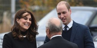Kate and William arrived in Birmingham for a jam packed day of work Photo PA
